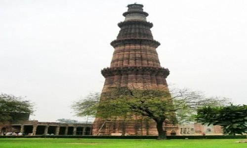 Zdjęcie INDIE / Delhi / Lal Kot  / Kutb Minar