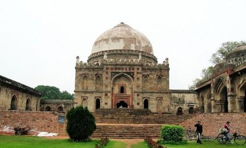 INDIE / Delhi / południowe Delhi / Ogrody Lodi