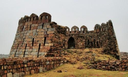 Zdjęcie INDIE / Delhi / południowe Delhi / Fort Tughlakabad