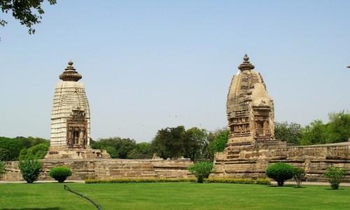 Zdjęcie INDIE / Madhja Pradesh / Khajuraho / świątynie grupa zachodnia