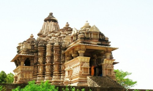 Zdjęcie INDIE / Madhja Pradesh / Khajuraho / świątynia Chiragupta