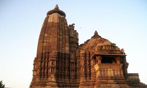 Zdjecie INDIE / Madhja Pradesh / Khajuraho / świątynia Javari