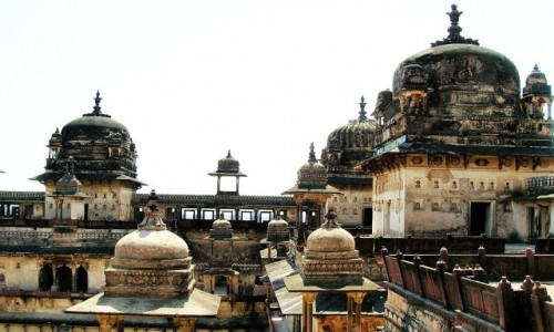 Zdjecie INDIE / Madhja Pradesh / Orchha / pałac Dżahangira