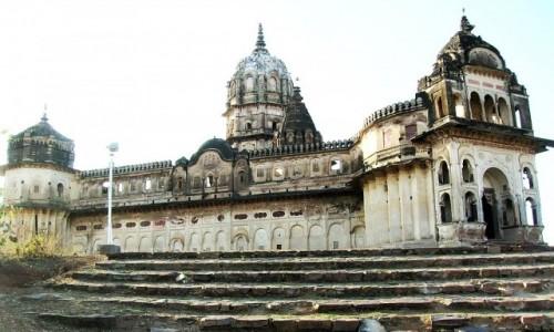 Zdjecie INDIE / Madhja Pradesh / Orchha / świątynia Lakszmi