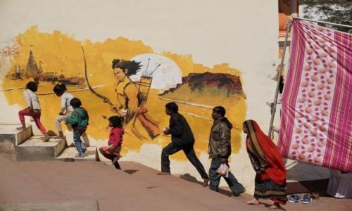 Zdjecie INDIE / Madhya Pradesh / Orchha / Pod czujnym okiem Ramy