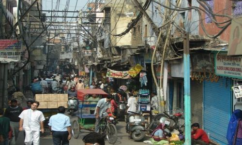 Zdjecie INDIE / brak / Dehli / Ulice Dehli