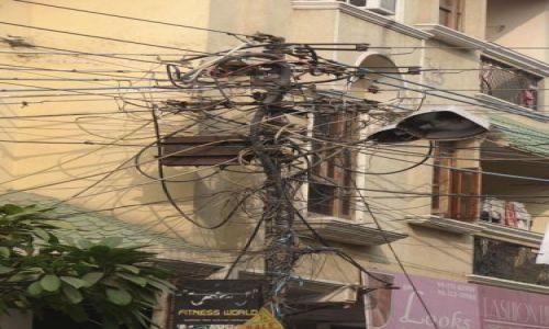 Zdjęcie INDIE / brak / Dehli / Słup energetyczny