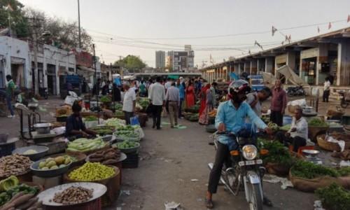 Zdjecie INDIE / Północno-zachodnie Indie / Bikaner / Bazar warzywny
