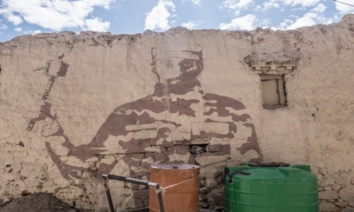 Zdjecie INDIE / Ladakh / Leh / Tybetański Che Guvera