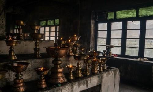 Zdjecie INDIE / Ladakh / Shey / koszmar strażaka