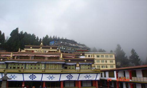 Zdjecie INDIE / Sikkim / Sikkim / Rumtek-klasztor