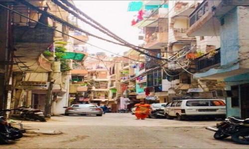 Zdjęcie INDIE / New Delhi / Village / Old town