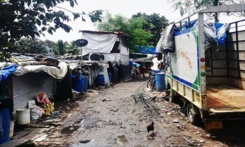 Zdjecie INDIE / Mumbaj / Versova / Slums Versova, Mumbaj