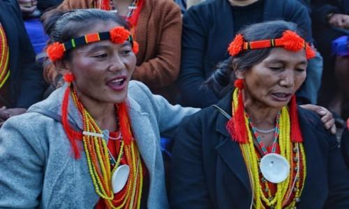 Zdjecie INDIE / Nagaland / Kohima, Kisama / Festiwal HORNBILL