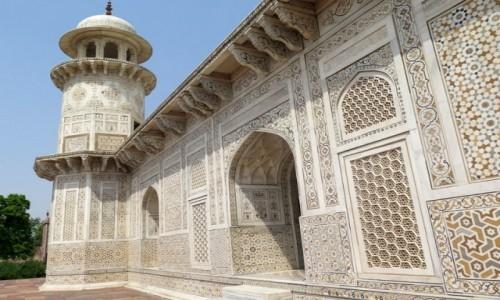 Zdjecie INDIE / Uttar Pradesh / AGRA / Mauzoleum I'timad-ud-Daulah (2)