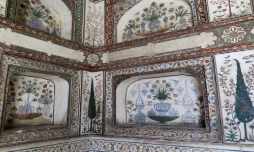 Zdjecie INDIE / Uttar Pradesh / AGRA / Mauzoleum I'timad-ud-Daulah (3)