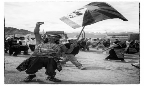 Zdjecie INDIE / Jammu and Kashmir / Leh / Free Tibet!!!
