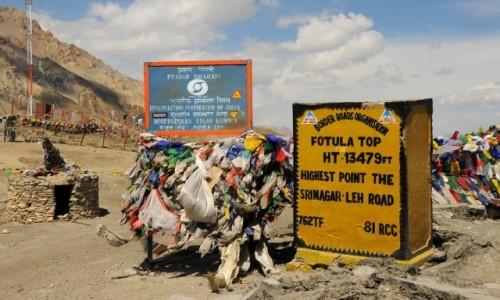 Zdjecie INDIE / Himalaje / Droga Srinagar - Leh / Fotula Top