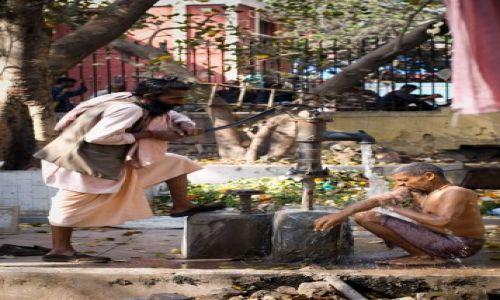Zdjecie INDIE / Delhi / Delhi / obmycie