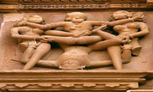 Zdjęcie INDIE / MADHYA PRADESH / Khajuraho / Czworokącik zmysłów:) Khajuraho(Miasto Miłości)