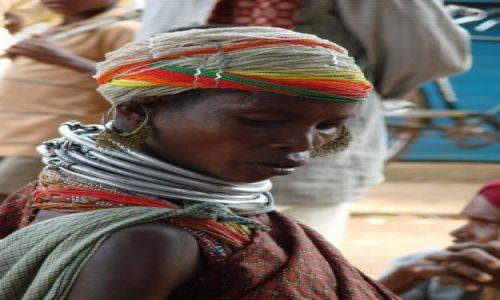 Zdjęcie INDIE / orissa / brak / Kobieta z plemienia Bonda
