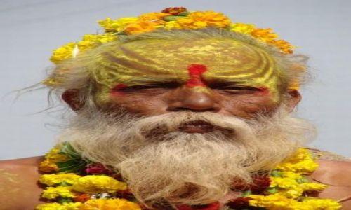Zdjecie INDIE / madhya pradesh / orcha / sadhu?