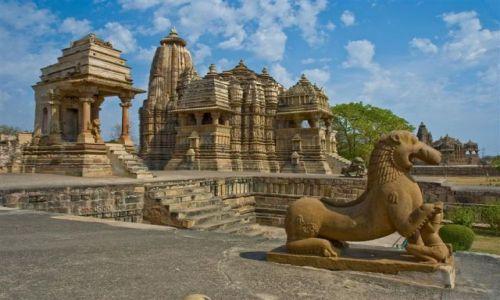 Zdjecie INDIE / Madhya Pradesh  / Khajuraho / Świątynie w Khajuraho