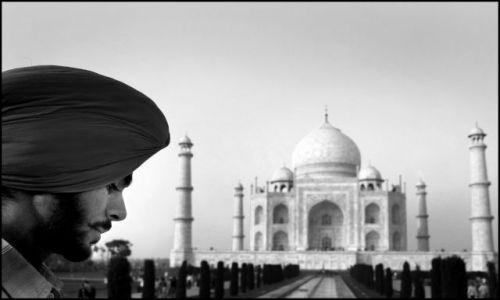 INDIE / brak / AGRA / TAJ MAHAL