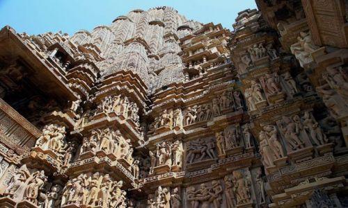 Zdjecie INDIE / brak / Khajuraho Swiątynia Kamasutry / Kamasutra