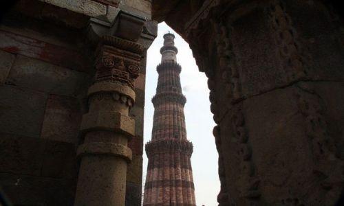 Zdjecie INDIE / brak / Old Delhi  QUTAB MINAR  / * * *