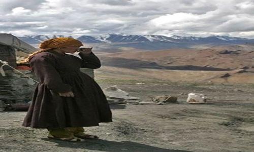 Zdjęcie INDIE / Ladakh / droga Manali-Leh / Gdzieś w Himalajach