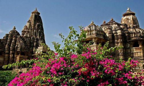 Zdjecie INDIE / brak / Khajuraho Swiątynia Kamasutry / ***