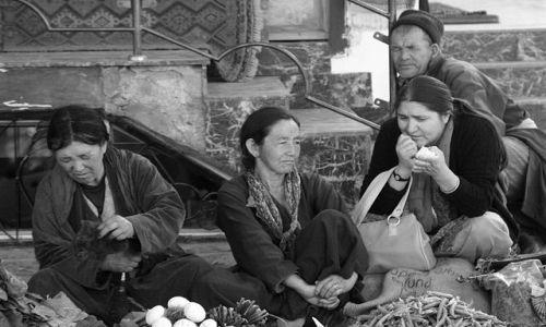 Zdjecie INDIE / Ladakh / Leh / przekupki