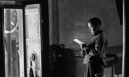 Zdjecie INDIE / Ladakh / Lamayuru / W klasztorze