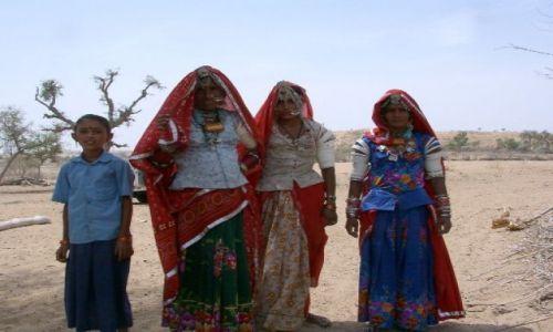 Zdjęcie INDIE / Rajastan / pustynia Thar / kobiety Rajastanu