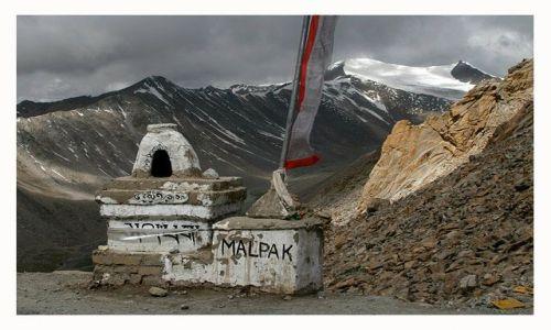 Zdjecie INDIE / Ladakh / przełęcz Khardung La / 5600 m n.p.m.