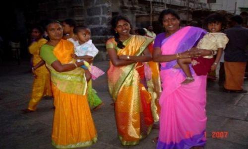 Zdjecie INDIE / Tamil Nadu / Madurai  / INDYJSKIE KOLORY