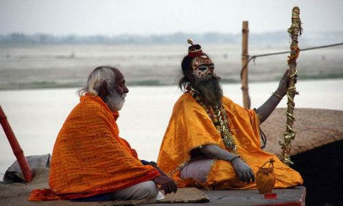 Zdjęcie INDIE / brak / VARANASI poświęcenie Gangesu / Varanasi3