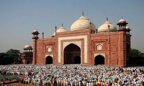 Zdjecie INDIE / Uttar Pradesh / Agra / zakończenie ram
