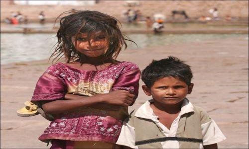 Zdjecie INDIE / Uttar Pradesh / Puskhar / dzieci