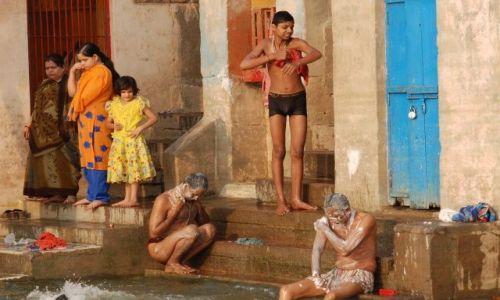 Zdjecie INDIE / brak / Varanasi / Nad gangesem
