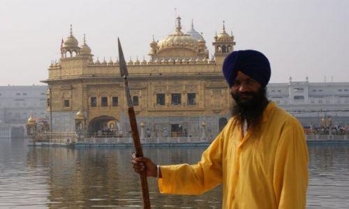 Zdjecie INDIE / brak / Amritsar / Sikh is king