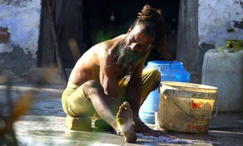 Zdjecie INDIE / agra / agra / pranie