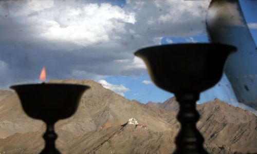 Zdjecie INDIE / ladak, leh / leh / klasztor