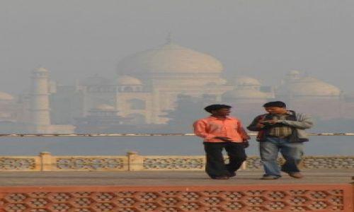 Zdjecie INDIE / brak / Agra / Rozmówcy