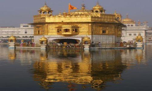 Zdjecie INDIE / Pendżab / Amritsar / Złota Świątynia Sikhów