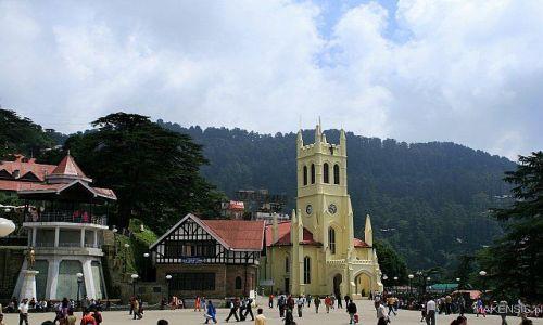 Zdjęcie INDIE / Dehra Dun to Leh / Shimla / Shimla plac