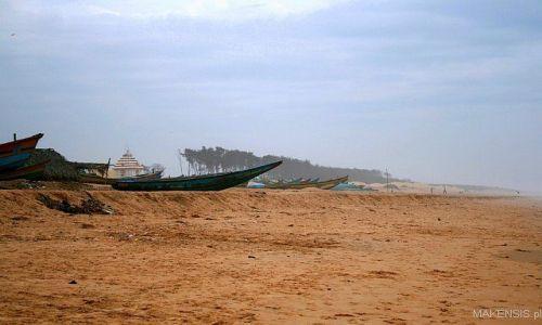 Zdjęcie INDIE / Orissa / Plaża / Puri