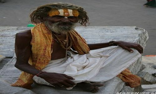 Zdjecie INDIE / Rajastan / Jasailmer / Sadhu