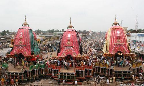 Zdjęcie INDIE / Orissa / Puri / Festiwal